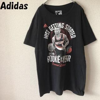 アディダス(adidas)の【人気】アディダス 2013 NBA デイミアン・リラード プリントTシャツ L(Tシャツ/カットソー(半袖/袖なし))