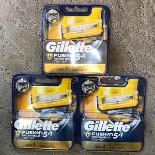 ジレ(gilet)のジレット フュージョン5+1 プロシールド NEWパッケージ 替刃合計12個(日用品/生活雑貨)