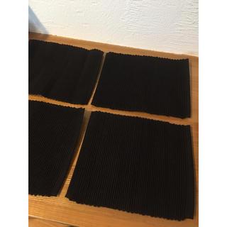 ムジルシリョウヒン(MUJI (無印良品))の無印良品 ティーマット 4枚組(テーブル用品)