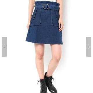 ダズリン(dazzlin)の☆タグ付き☆dazzlin ベルト付きミリタリースカート(ミニスカート)