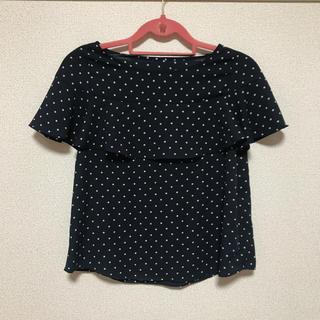 ジーユー(GU)のGU 水玉ブラウス(シャツ/ブラウス(半袖/袖なし))