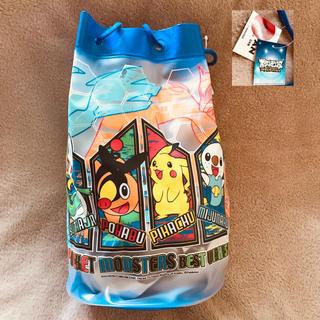 ポケモン(ポケモン)の新品 ポケモン プールバッグ ビーチバッグ  スイミング 日本製(マリン/スイミング)