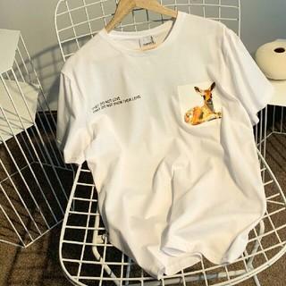 バーバリー(BURBERRY)のBURBERRY バーバリー  短袖 半袖  白 男女兼用 カップル用 (Tシャツ/カットソー(半袖/袖なし))
