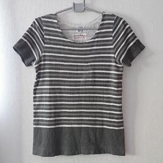キューブシュガー(CUBE SUGAR)のCUBE SUGAR ボーダーTシャツ M(Tシャツ(半袖/袖なし))