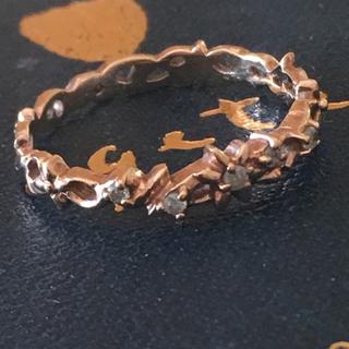 アガット(agete)のageteアガット K10ダイヤモンドリング(リング(指輪))