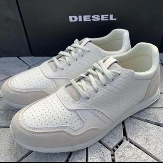 ディーゼル(DIESEL)の●新品 DIESEL ディーゼル スニーカー 28.5㎝ レザー 送料無料(スニーカー)