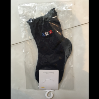 ファミリア(familiar)の【新品・未使用】ファミリア靴下(13cm)(その他)