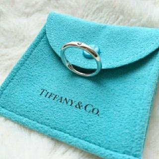 ティファニー(Tiffany & Co.)のTIFFANY&CO.★ブルーサファイアリング(リング(指輪))
