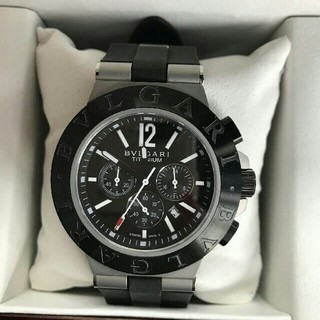 BVLGARI - BVLGARI ブルガリ ブルガリ クロノグラフ メンズ  腕時計