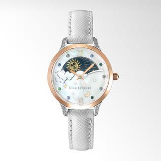 スタージュエリー(STAR JEWELRY)のスタージュエリー 時計 Spring 限定商品 WHITE DAY&NIGHT(腕時計)