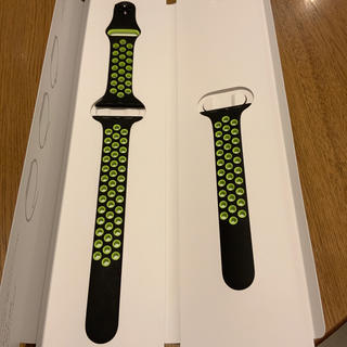 Apple Watch - (美品) Apple Watch 38mm NIKE スポーツバンド