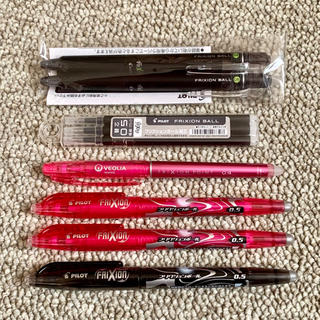 PILOT - フリクション ボールペン 替芯含む 0.5mm 0.4ミリ  複数セット