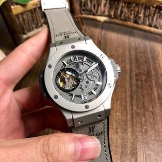 HUBLOT - ウブロ 腕時計 自動巻き 人気 メンズ シルバー