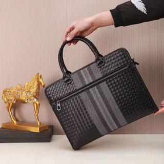 ボッテガヴェネタ(Bottega Veneta)のボッテガヴェネタ メンズ ビジネスバッグ ブラック(ビジネスバッグ)