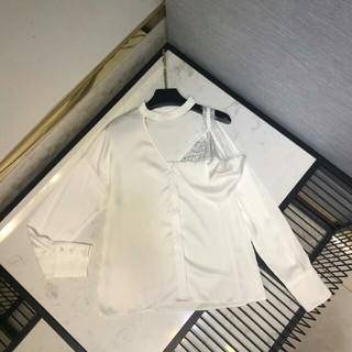 ジルサンダー(Jil Sander)のJil Sandor シャツ レディース Tシャツ フェイクレイヤード M (シャツ/ブラウス(長袖/七分))