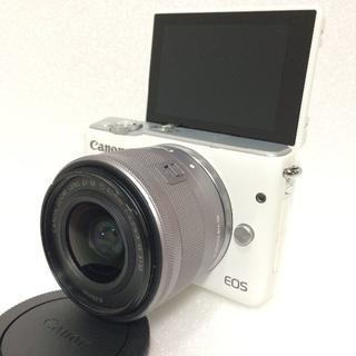 Canon - CANON ミラーレス EOS M10 ホワイト 標準レンズ