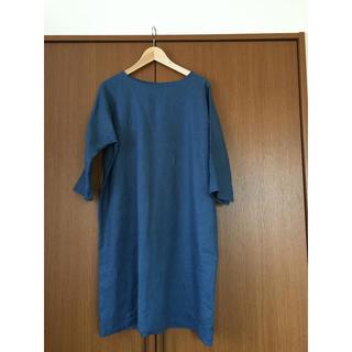 103c6f1e41f51 ネストローブ(nest Robe)の新品鎌倉スワニーヴィンテージリネンハンドメイドドルマンスリーブワンピース