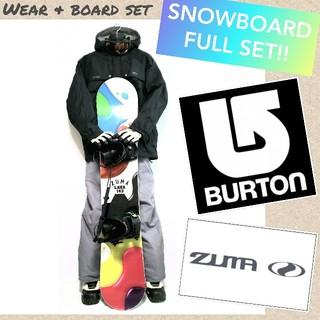 BURTON - ☆スノーボードフルセット☆スタートアップ超特価!!BURTON・NAKED等々