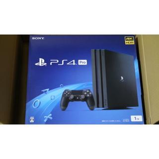 ソニー(SONY)のPlayStation4 Pro ジェット・ブラック 1TB CUH-7200B(家庭用ゲーム本体)