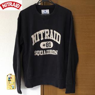 ナイトレイド(nitraid)のNITRAID ナイトレイド スウェット トレーナー(スウェット)