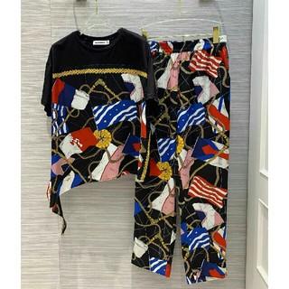 ジルサンダー(Jil Sander)のJILSander パンツセット Tシャツ 2点セット レディース パンツ S (Tシャツ(半袖/袖なし))