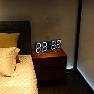 3D LEDデジタル目覚まし時計344