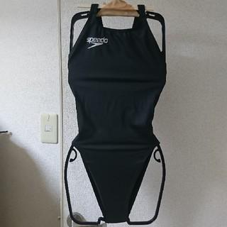 SPEEDO - SPEEDO◆スピード競泳水着 ブラックM