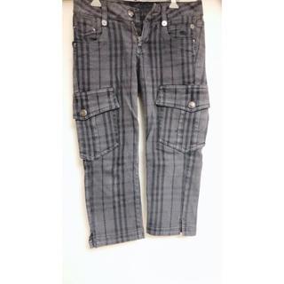 バーバリー(BURBERRY)のBurberry バーバリー 七分パンツ チェック 新品ズボン(カジュアルパンツ)