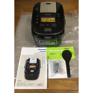 Panasonic - パナソニック 5.5合 炊飯器 圧力IH式 Wおどり炊きSR-SPA108-K