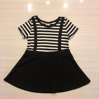 8f4b6529a5323 シマムラ(しまむら)の韓国子供服 ワンピース 90(ワンピース)