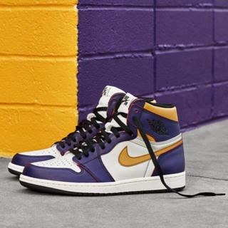 NIKE SB×NIKE AIR JORDAN 1 LAKERS レイカーズ