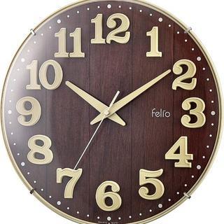 在庫残り僅か★置き時計・掛け時計 (アイボリー) 19