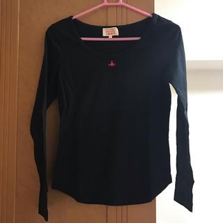 ヴィヴィアンウエストウッド(Vivienne Westwood)のカットソー ブラック(カットソー(長袖/七分))