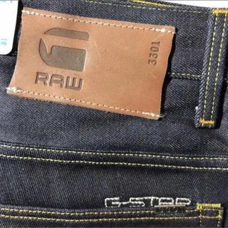 ジースター(G-STAR RAW)の新品 G-STAR RAW/33インチ/3301 STRAIGHT インディゴ(デニム/ジーンズ)