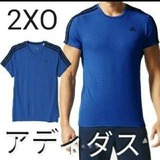 アディダス(adidas)のアディダス  Tシャツ  メンズ  大きいサイズ  2XO  ブルー(ウェア)