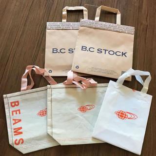 ビームス(BEAMS)のショップ袋 ショッパー 不織布 ビニール 紙袋 (ショップ袋)