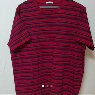ジーユー(GU)の✨ 未使用✨ジーユー・GU 赤Tシャツ(Tシャツ/カットソー(半袖/袖なし))