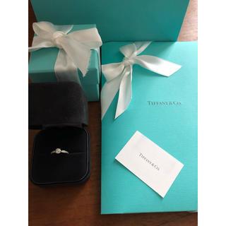 ティファニー(Tiffany & Co.)のティファニー   ハーモーニー ビーズセッティングダイヤモンドバンドリング(リング(指輪))