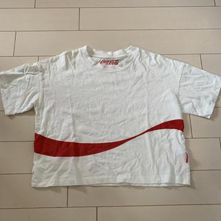 ジーユー(GU)のGU☆コカコーラ Tシャツ(Tシャツ(半袖/袖なし))