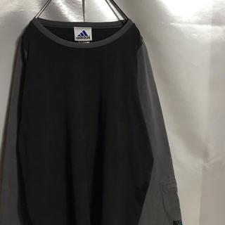 アディダス(adidas)の90sヴィンテージ アディダス Tシャツ adidas 3Bandes(Tシャツ/カットソー(七分/長袖))