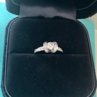 ティファニー(Tiffany & Co.)のティファニー リング リボンリング ダイヤモンド(リング(指輪))