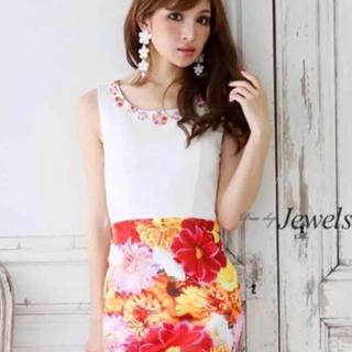d40abfca032b8 ジュエルズ(JEWELS)の花柄 キャバ ドレス(ナイトドレス)