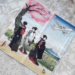 ジャル(ニホンコウクウ)(JAL(日本航空))の東北コットン タオルハンカチ JAL (ハンカチ)
