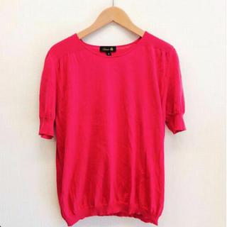 ドゥロワー(Drawer)のドゥロワー ニットカットソー tシャツ drawer celine dior (カットソー(半袖/袖なし))
