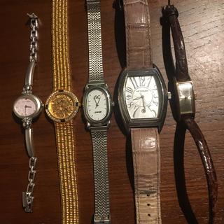 クレージュ(Courreges)の腕時計ジャンク品 5点(腕時計)