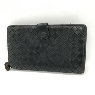 ボッテガヴェネタ(Bottega Veneta)の⭐︎セール⭐︎ ボッテガヴェネタ 二つ折り 財布 黒 メンズ(折り財布)