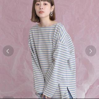ケービーエフ(KBF)のKBF ボーダーTシャツ(Tシャツ(長袖/七分))
