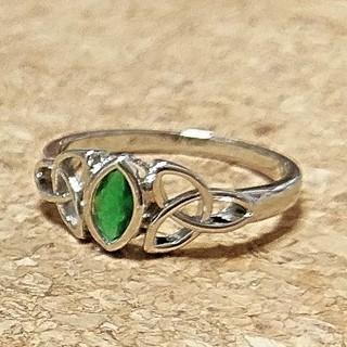 グリーンクォーツのシルバーリング(リング(指輪))