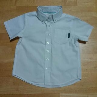 ニシマツヤ(西松屋)の半袖白シャツ 100㎝ CHEROKEE (ブラウス)