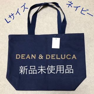 DEAN & DELUCA - dean & deluca  トートバッグ  ネイビー L
